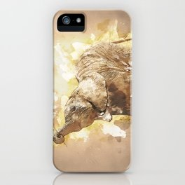 Elephant - It's Tea Time! iPhone Case