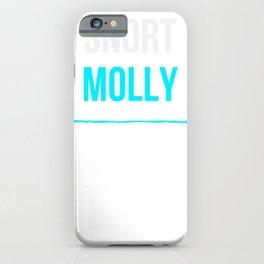 Snort Molly - Funny Sesh Gremlin iPhone Case