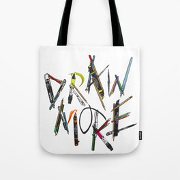 Draw More (Color) Tote Bag