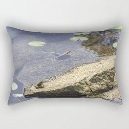 Froggy dreams Rectangular Pillow