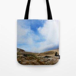 mountains landscape Tote Bag