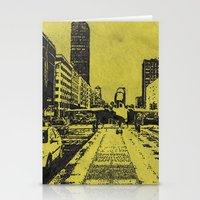 milan Stationery Cards featuring Milan 2 by Anand Brai