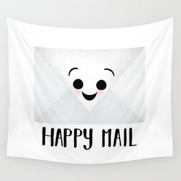 Happy Mail Wall Tapestry