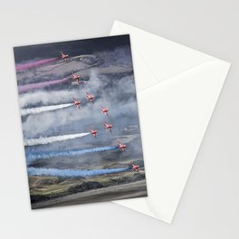 The Red Arrows Newcastle Stationery Cards
