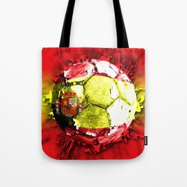 football  spain Tote Bag