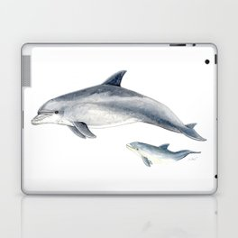 Bottlenose dolphin Laptop & iPad Skin