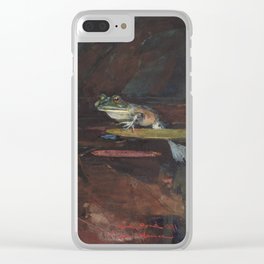 Winslow Homer - Mink Pond, 1891 Clear iPhone Case