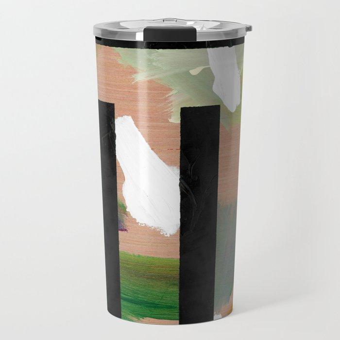Untitled (Abstract Composition 2017018) Travel Mug