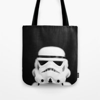 trooper Tote Bags featuring Trooper by Emma Harckham