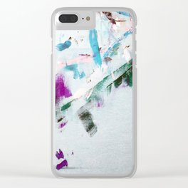 Luck of the Movement - Light Clear iPhone Case