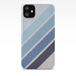 Blue Color Drift iPhone Case