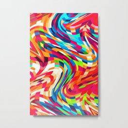 Pattern LXXII Metal Print