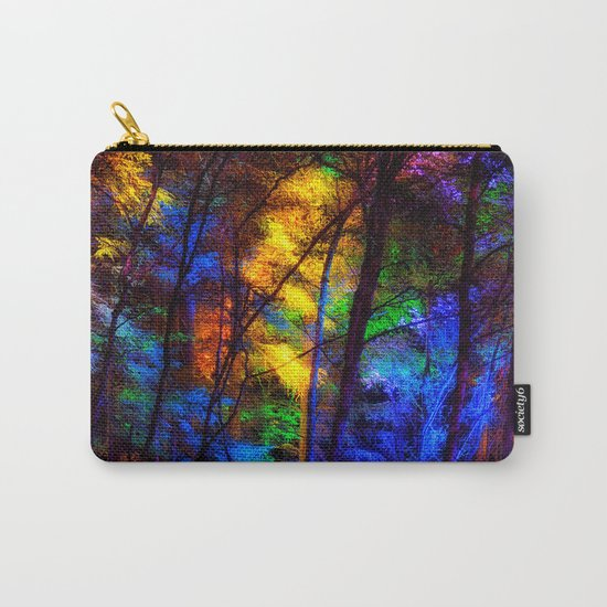 Rainbow Enchanted Forest Carry-All Pouch