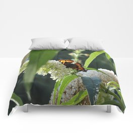 Small Tortoiseshell Butterfly Comforters