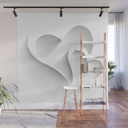 Hearts - valentines and love hearts Wall Mural