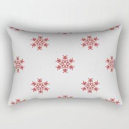 Les étoiles rouge Rectangular Pillow