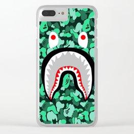 Bape Shark Clear iPhone Case