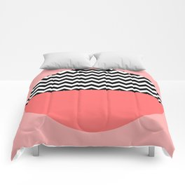 Moiety Pink Comforters
