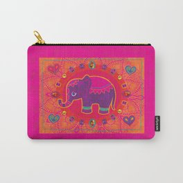 Indian Elephant Carry-All Pouch
