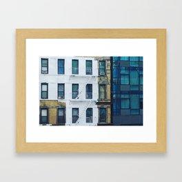 Three. Framed Art Print