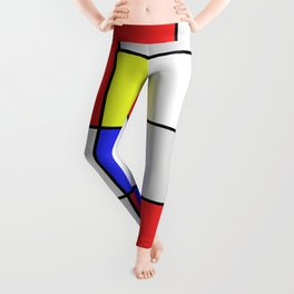 Mondrian #25 Leggings