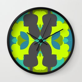 Guitar pattern Wall Clock