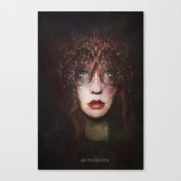 The fragile Queen Canvas Print