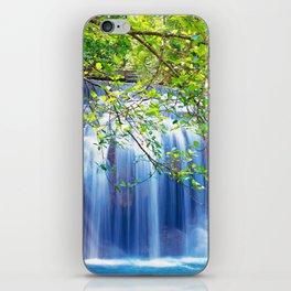 Erawan waterfall iPhone Skin