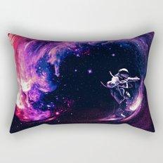 Space Surfing Rectangular Pillow
