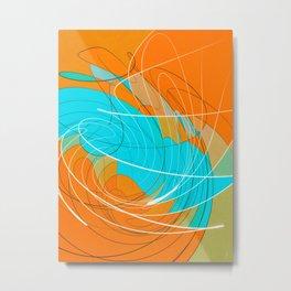 temporal distortion Metal Print