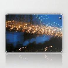 In My Dream, I Saw A Lighted Bridge Laptop & iPad Skin