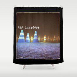Gang of Cones  - The Invaders Shower Curtain