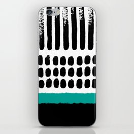 November Forest abstract pattern iPhone Skin