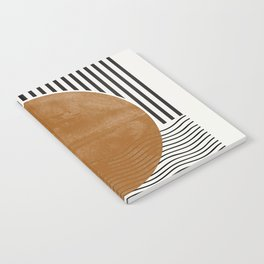 Abstract Modern Poster Notebook