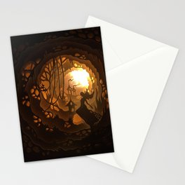 new moon Stationery Cards