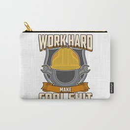 Helmet hard work construction job cool craft gift idea Carry-All Pouch