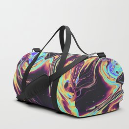SIDEWALKING IN THE ALLEY Duffle Bag