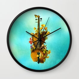 Undying Symphony Wall Clock