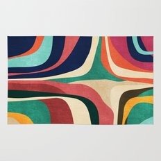 Impossible contour map Rug