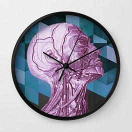 Profile Test Blue Wall Clock