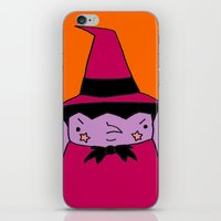 witch iPhone & iPod Skins featuring Witch by Soju Shots