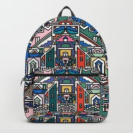 Ndebele Village Backpack