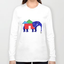Elephant in My Room Long Sleeve T-shirt