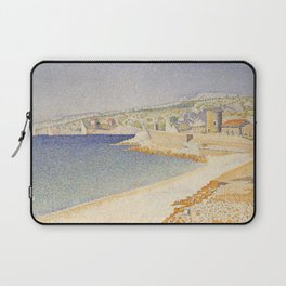 The Jetty at Cassis, Opus 198 Laptop Sleeve
