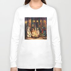 Camp Meeting By Helen Green Long Sleeve T-shirt