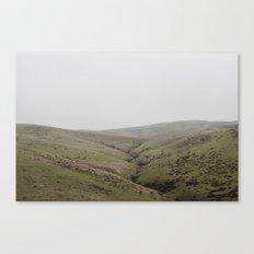 Pastures of CA Canvas Print