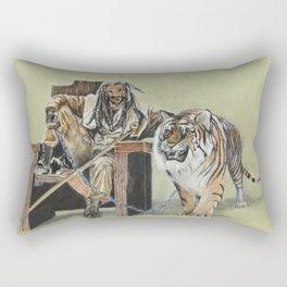 King Ezekiel and Shiva Rectangular Pillow