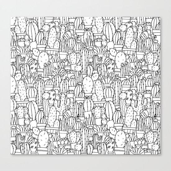 Cool as a Cactus Canvas Print
