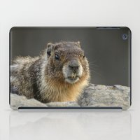 chuck iPad Cases featuring Rock Chuck by Dutta Photography