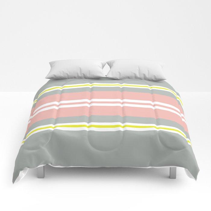 Soft Stripes Comforters